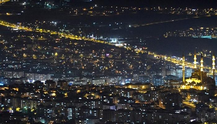 Kahramanmaraş'ın nüfusu belli oldu