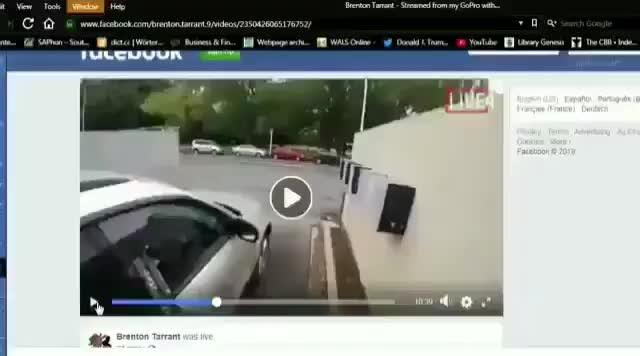 Yeni Zelanda'da canlı yayında camide katliam