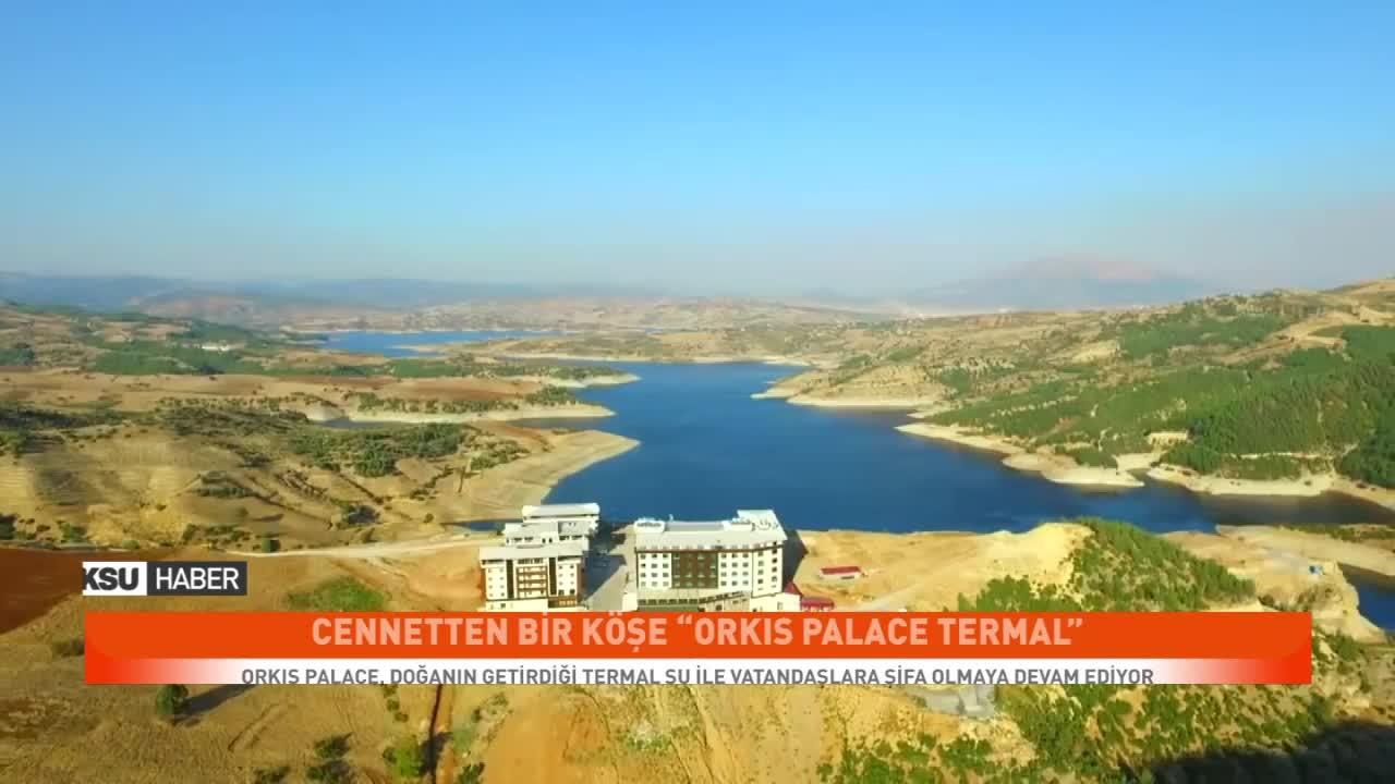 Orkis Palace, Doğanın Getirdiği Termal Su ile Vatandaşlara Şifa Olmaya Devam Ediyor