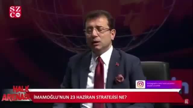 Ekrem İmamoğlu CNNTürk'teki 4 kameramanın görevine son verildi