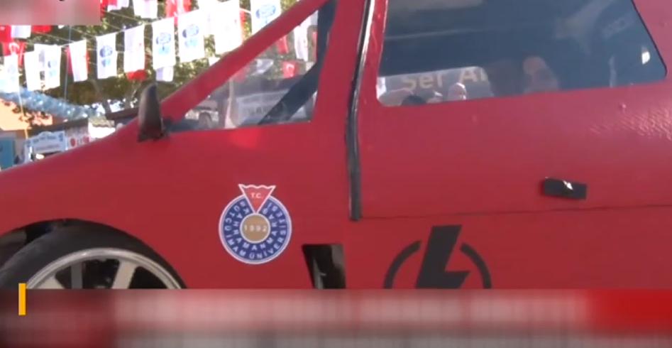 KSÜ'de Elektrikli Araba Üretildi